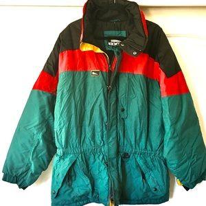 Inside Edge Jackets & Coats - VTG Color Block Ski Jacket Coat Inside Edge AJ20